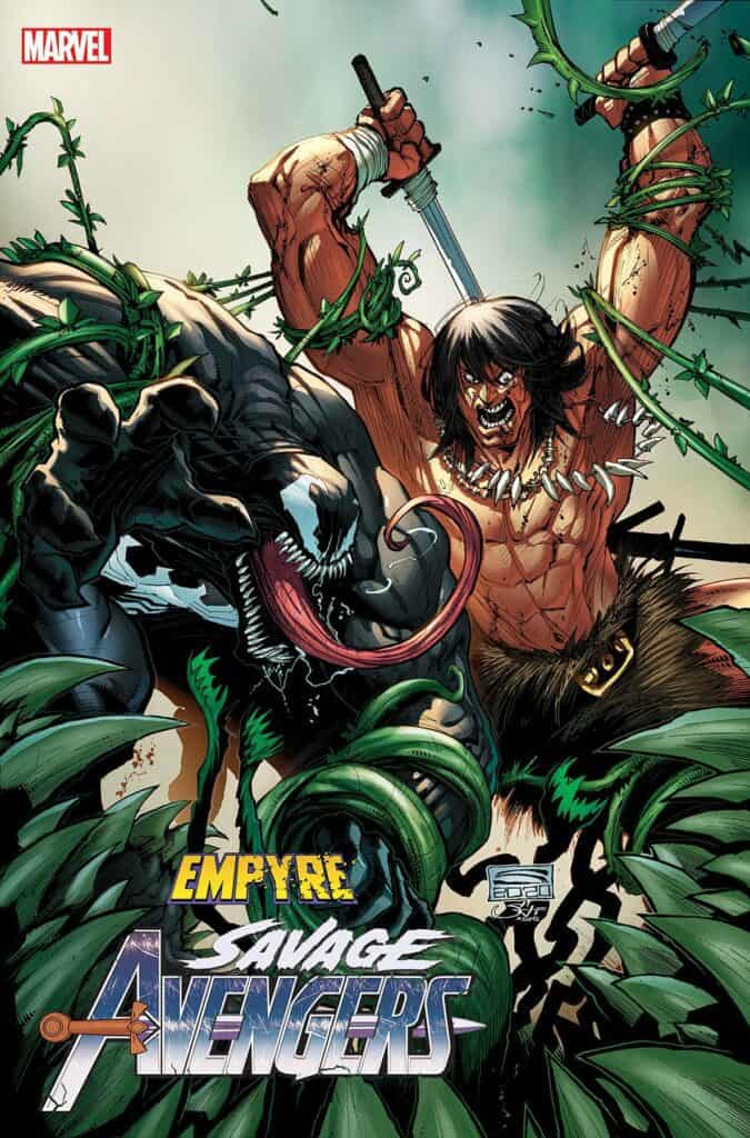 EMPYRE: Savage Avengers #1 - Cover B