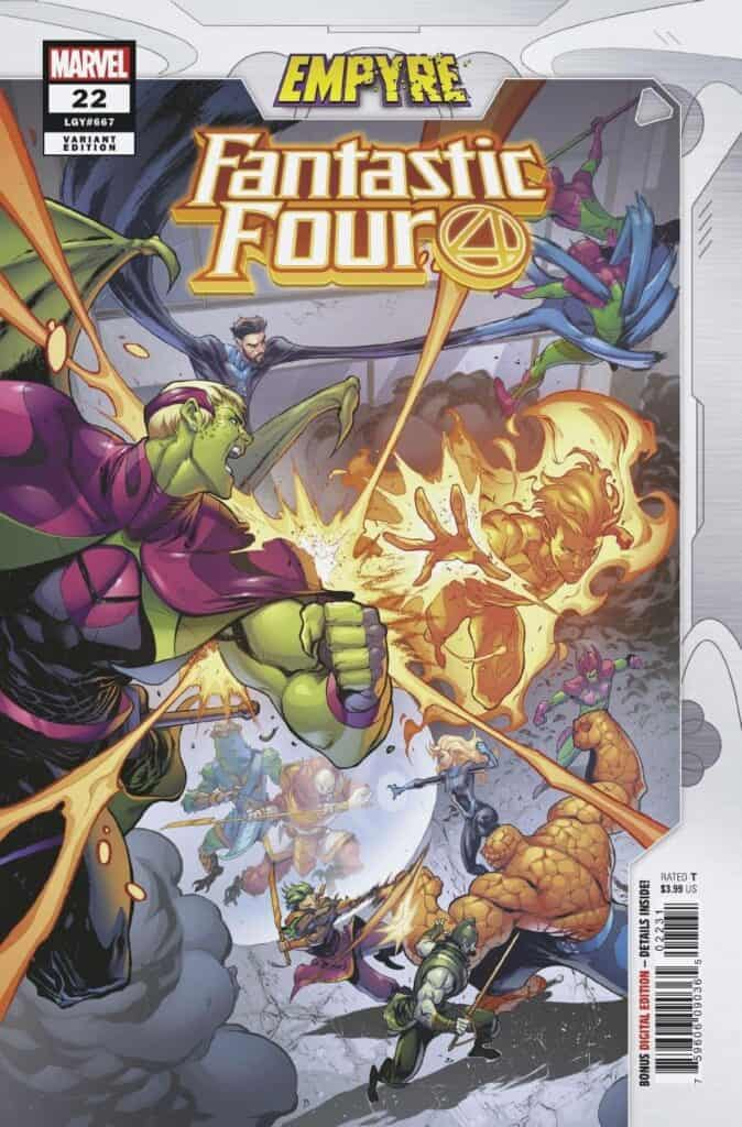 FANTASTIC FOUR #22 - Cover B