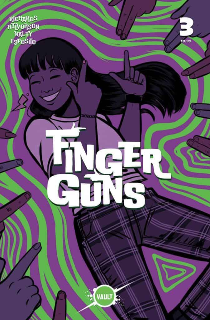 FINGER GUNS #3 -Main Cover (A)