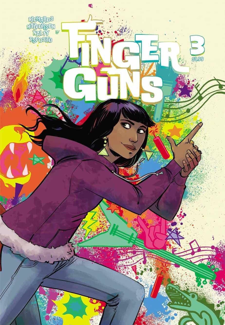 FINGER GUNS #3 -Variant Cover (B)