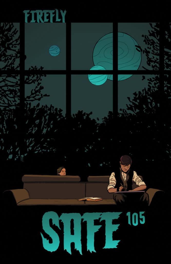 Firefly #17 - Animated Series Cover
