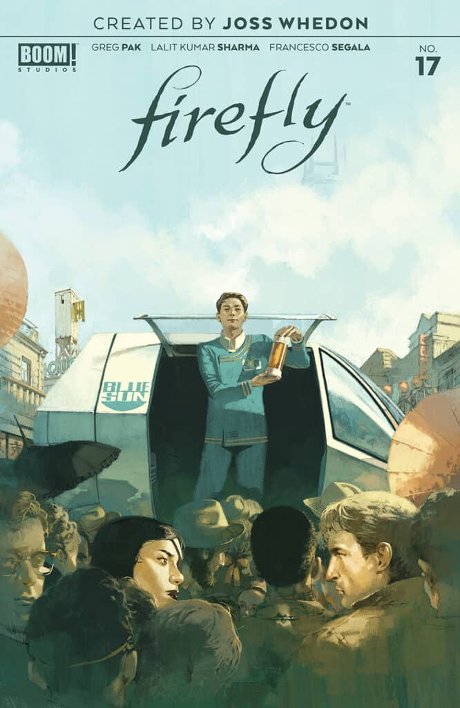 Firefly #17 - Main Cover