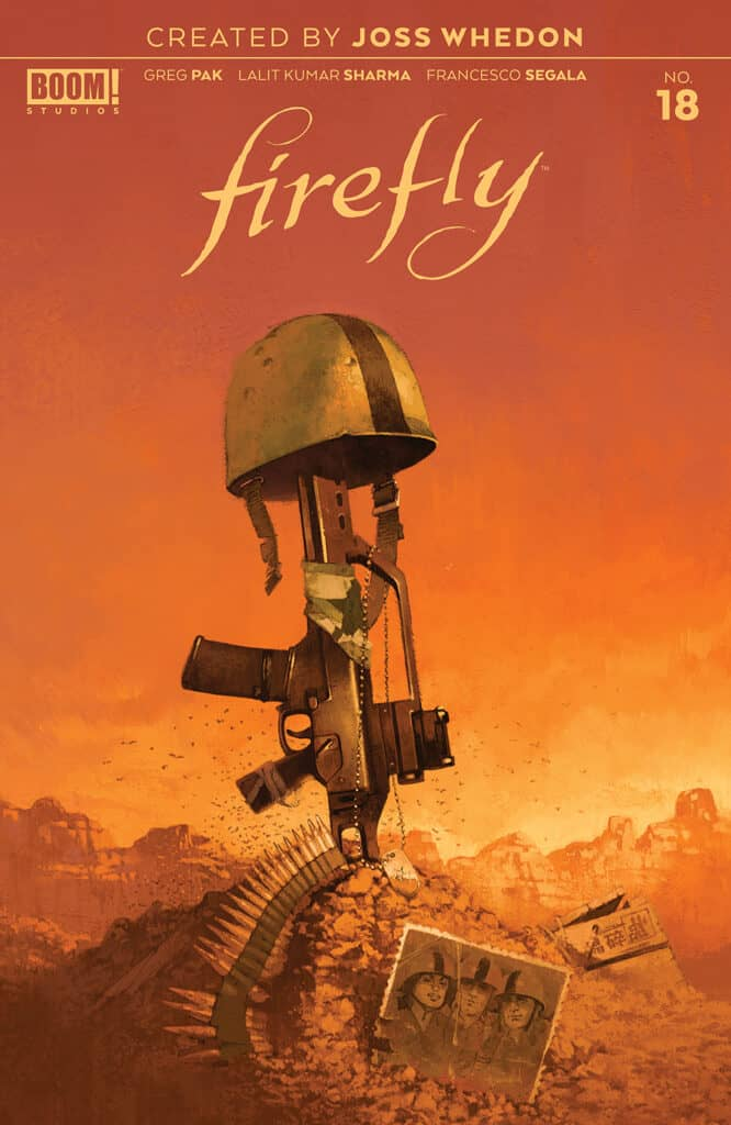 Firefly #18 - Main Cover