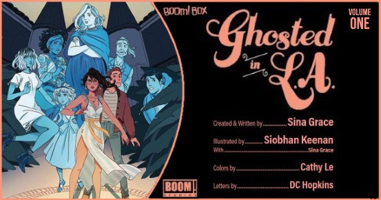 GHOSTED IN L.A. Vol. 1 TPB preview feature