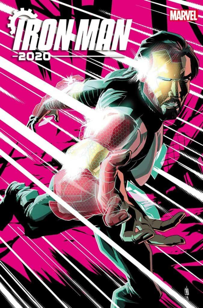 IRON MAN 2020 #5 - Cover A