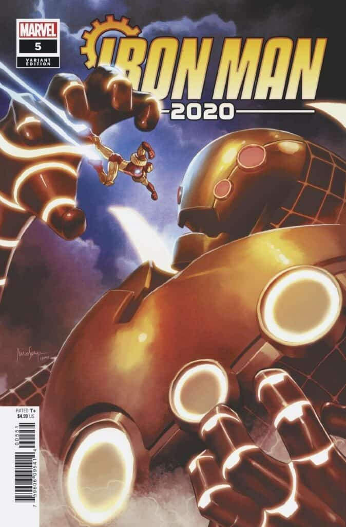 IRON MAN 2020 #5 - Cover B