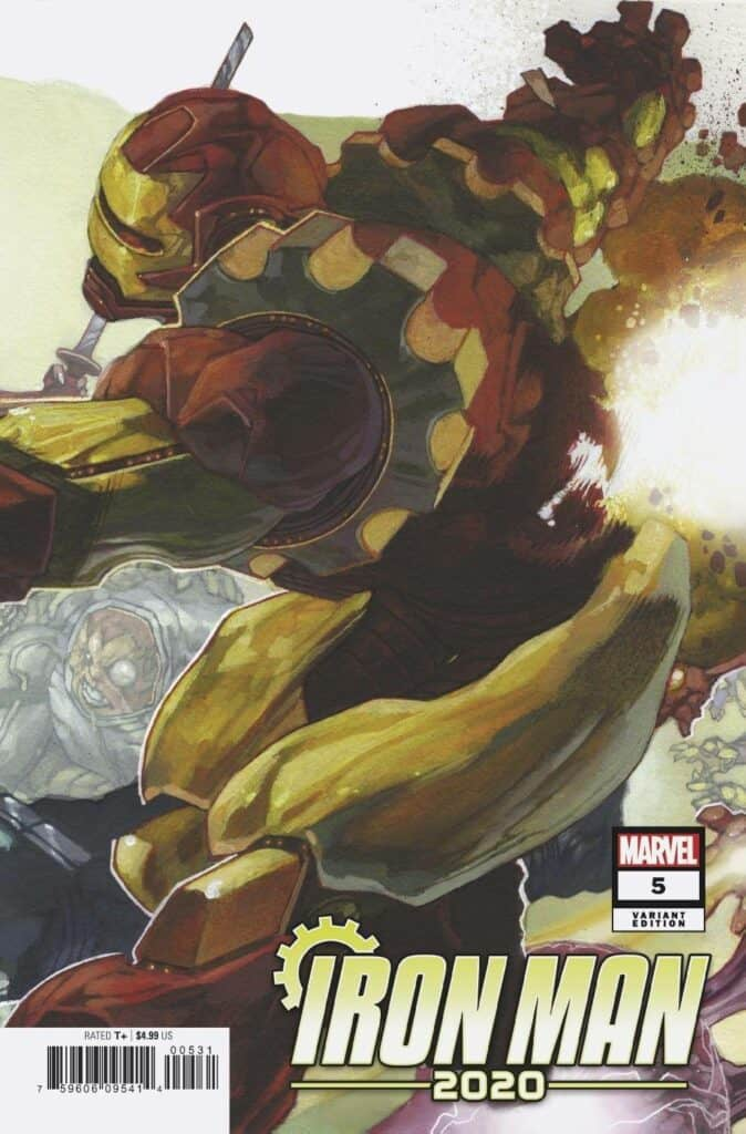 IRON MAN 2020 #5 - Cover C