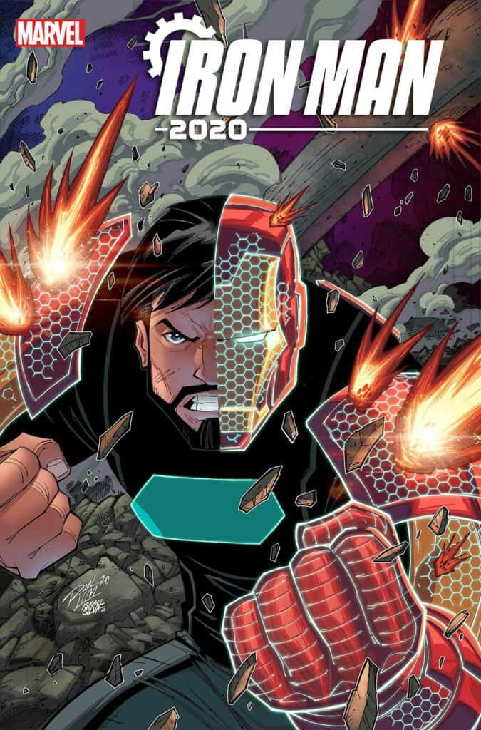 IRON MAN 2020 #5 - Cover D
