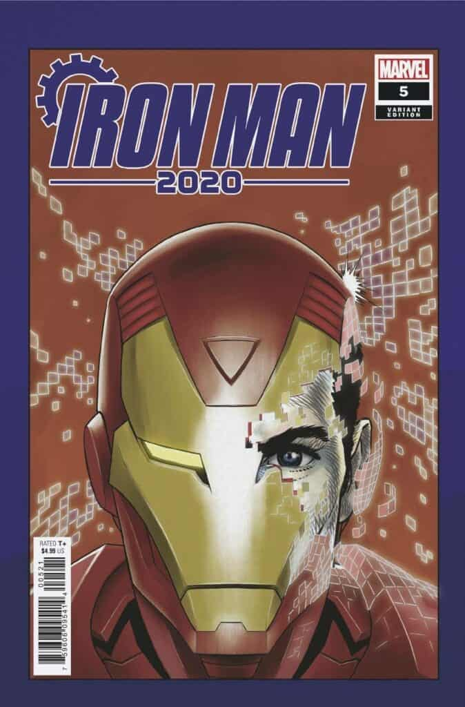IRON MAN 2020 #5 - Cover E