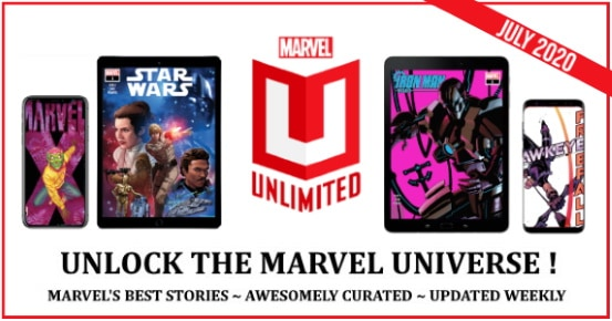 July 2020 Marvel Unlimited feature