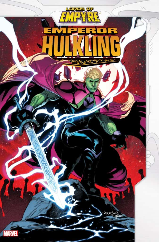 LORDS OF EMPYRE: Emperor Hulkling #1 - Cover A