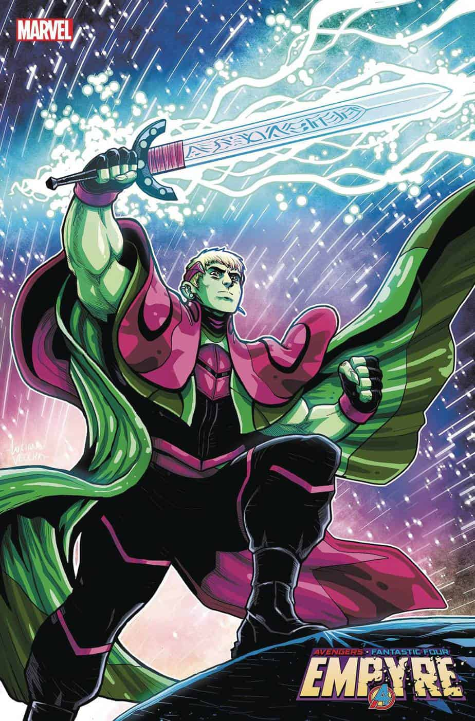 LORDS OF EMPYRE: Emperor Hulkling #1 - Cover B