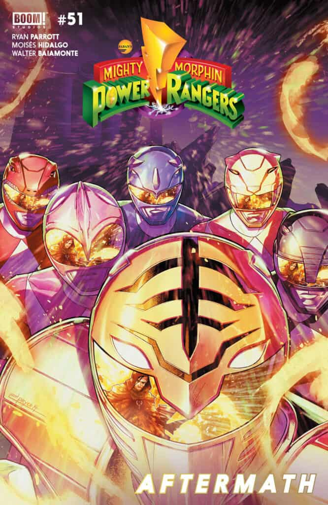 MIGHTY MORPHIN POWER RANGERS #51 - Main Cover