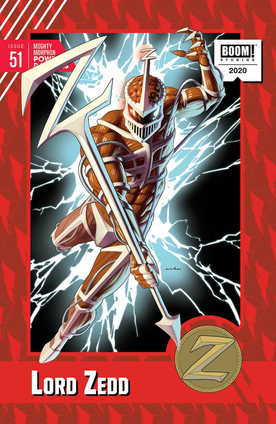 MIGHTY MORPHIN POWER RANGERS #51 - Trading Card Variant