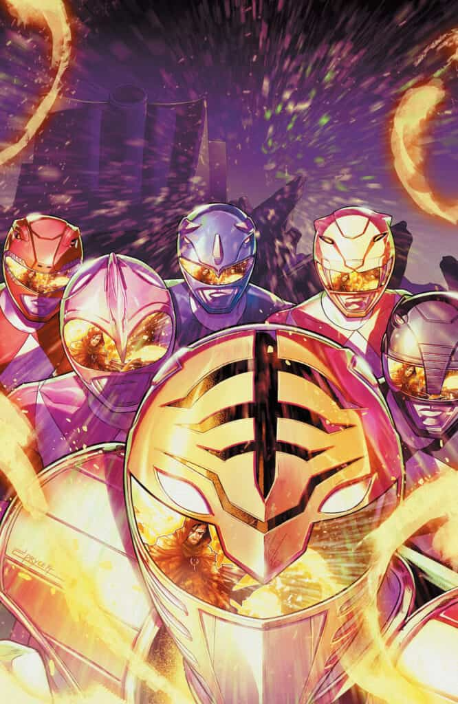 MIGHTY MORPHIN POWER RANGERS #51 - Virgin Variant