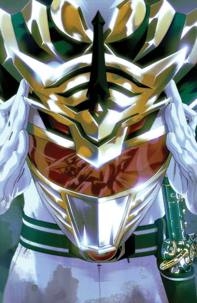 Mighty Morphin Power Rangers #52 - Foil Cover