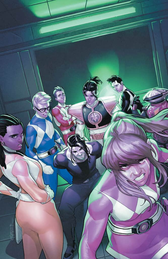 Mighty Morphin Power Rangers #52 - Variant Cover
