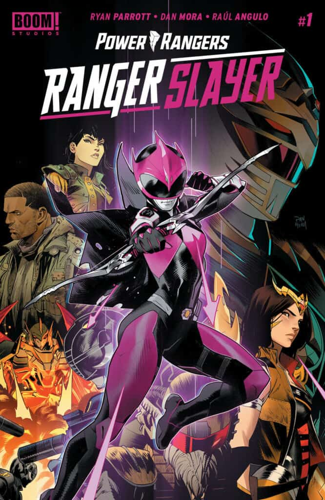 POWER RANGERS: Ranger Slayer #1 - Main Cover