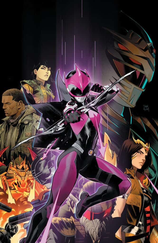 POWER RANGERS: Ranger Slayer #1 - Virgin Variant Cover