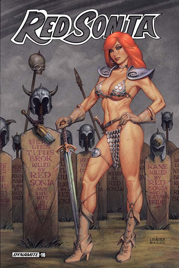 Red Sonja (Vol. 5) #16 - Cover B