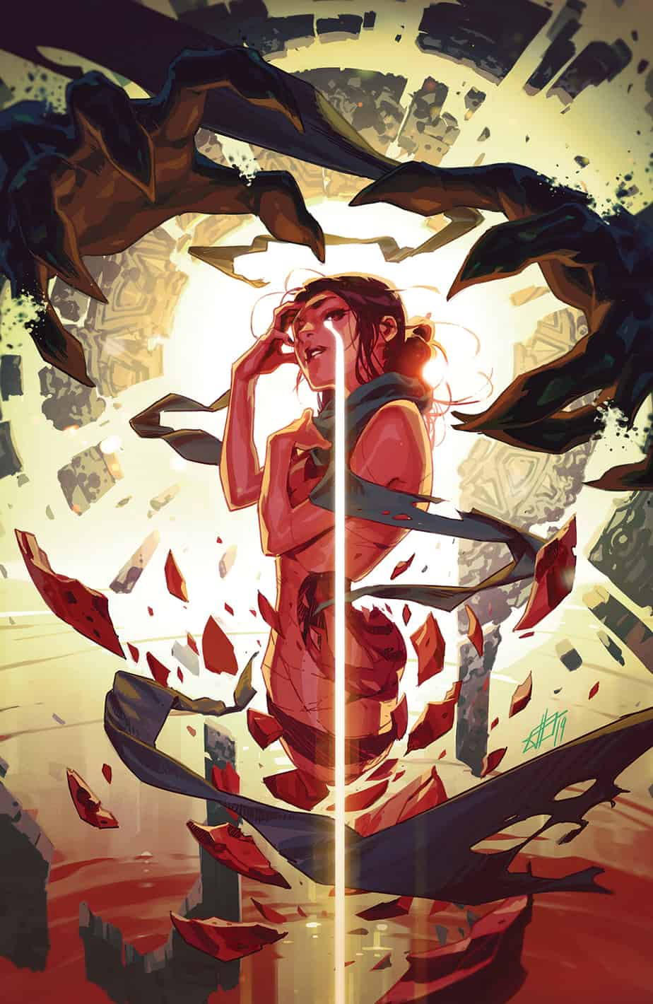 THE RED MOTHER #6 - Variant Cover