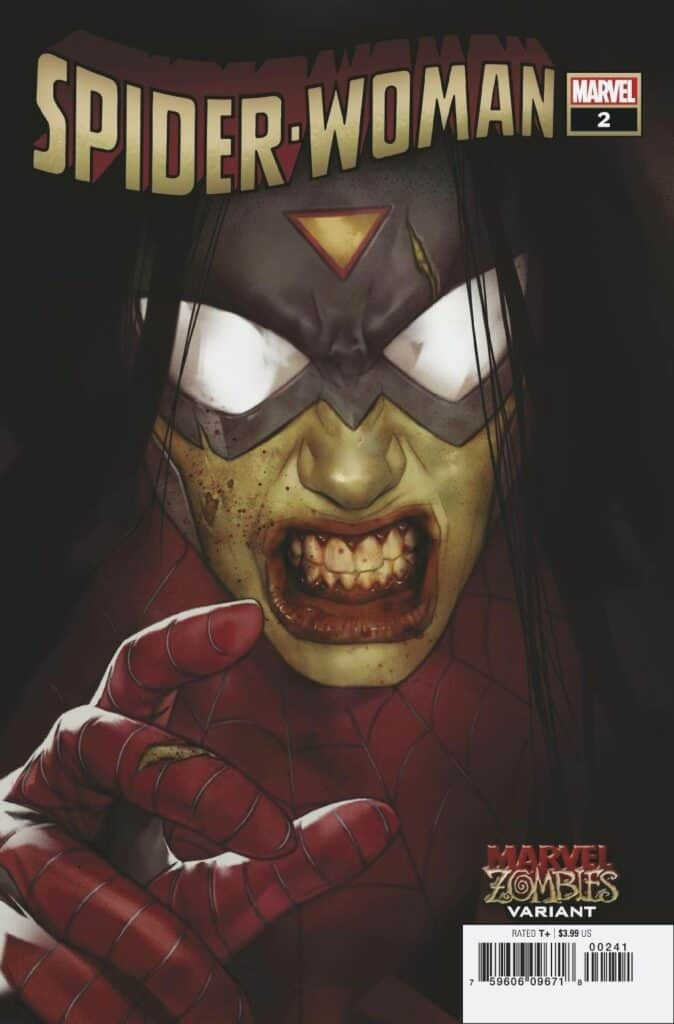 SPIDER-WOMAN #2 - Cover D