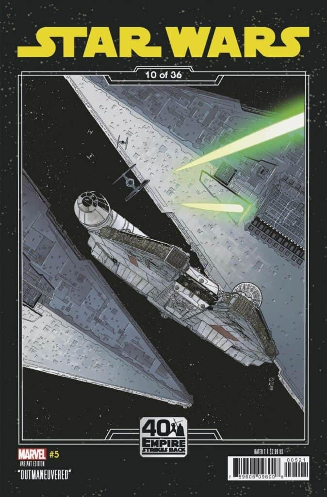 STAR WARS #5 - Cover B