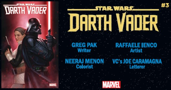 STAR WARS Darth Vader #3 preview feature