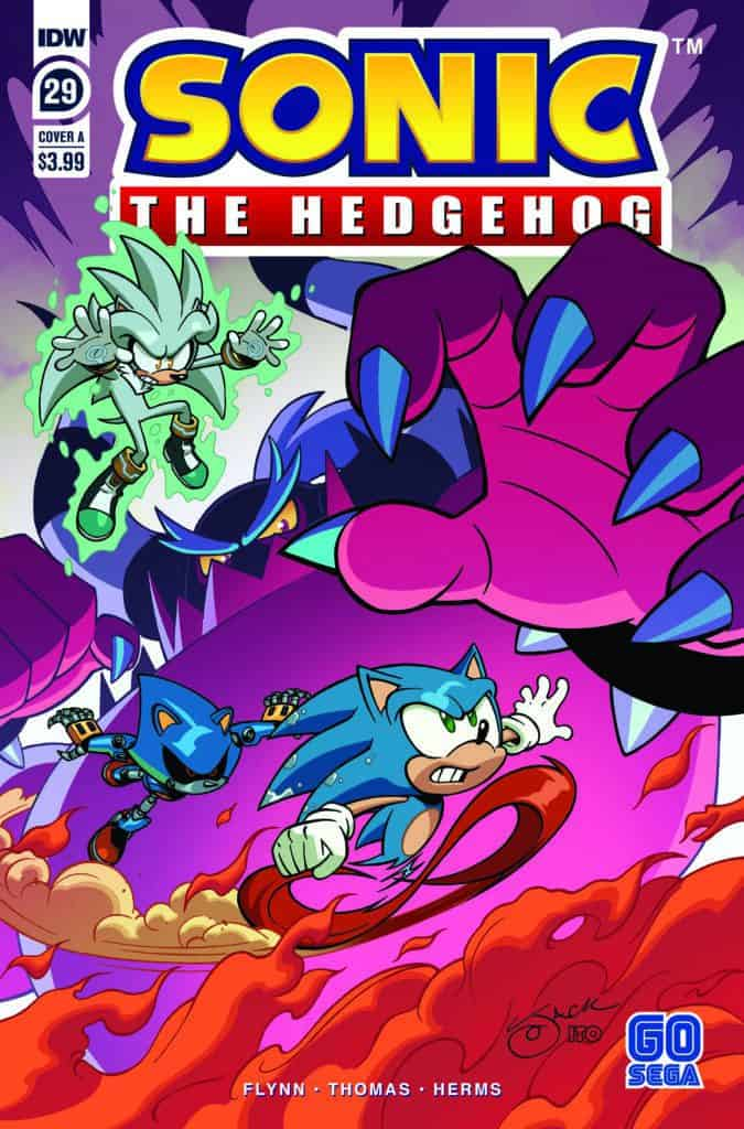 Sonic the Hedgehog #29 - Cover A