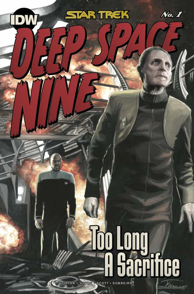 Star Trek: Deep Space Nine - Too Long A Sacrifice #1 - Retailer Incentive Cover A
