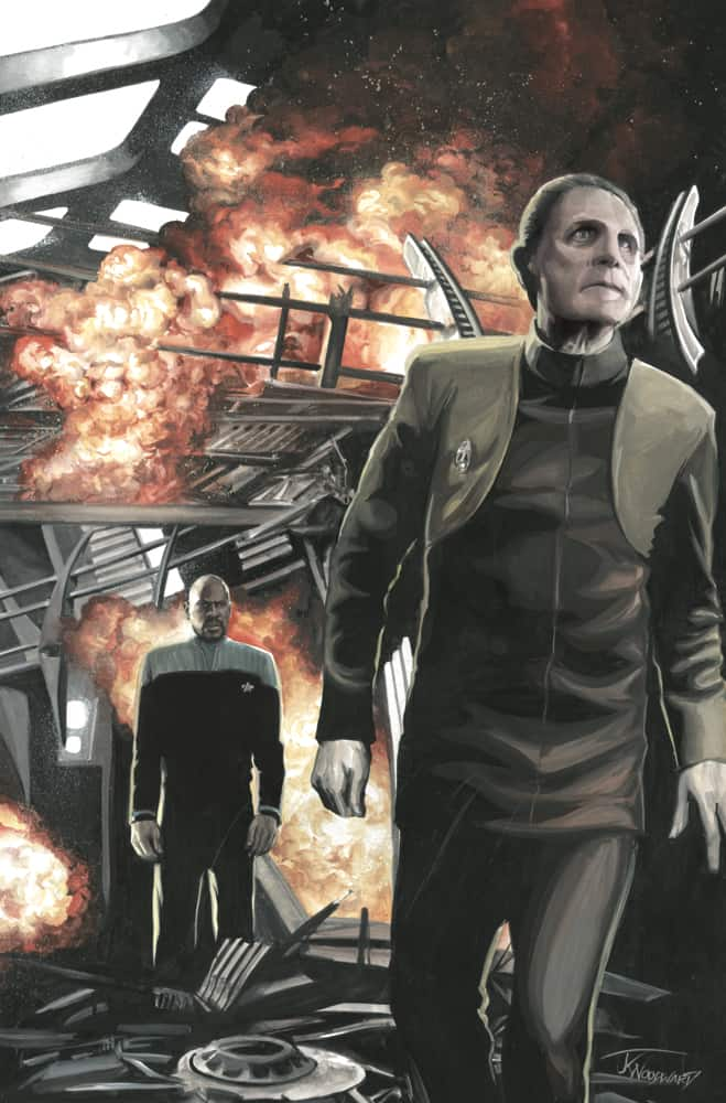 Star Trek: Deep Space Nine - Too Long A Sacrifice #1 - Retailer Incentive Cover B