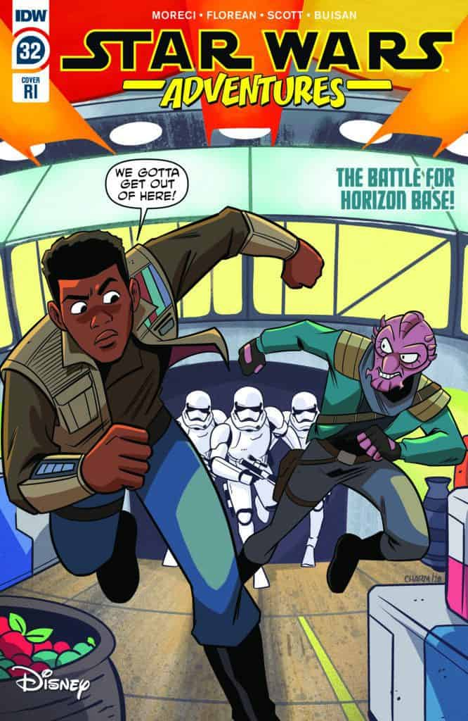 Star Wars Adventures #32 - Retailer Incentive Cover