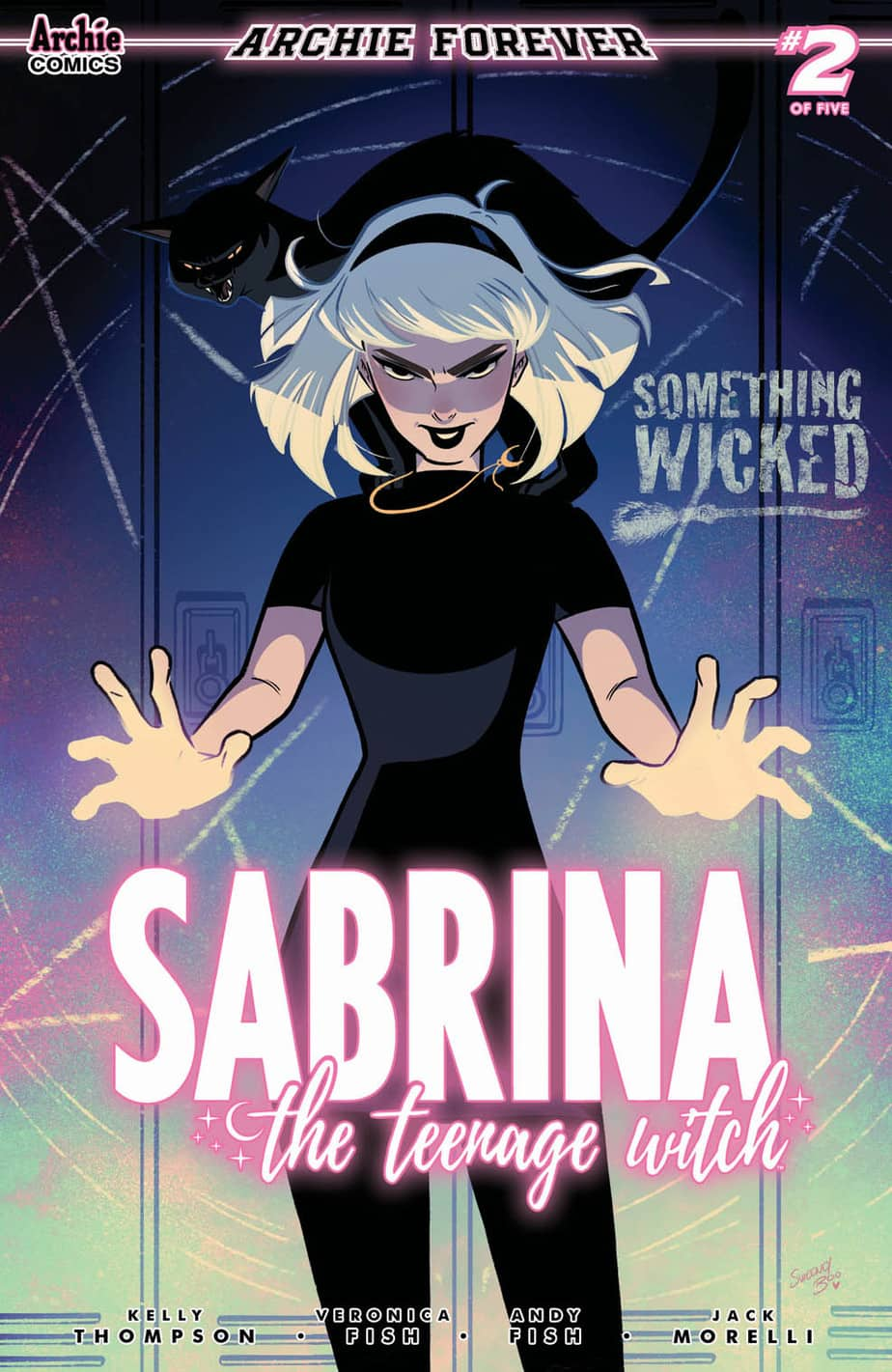 Sabrina The Teenage Witch Something Wicked #2 - Cover B