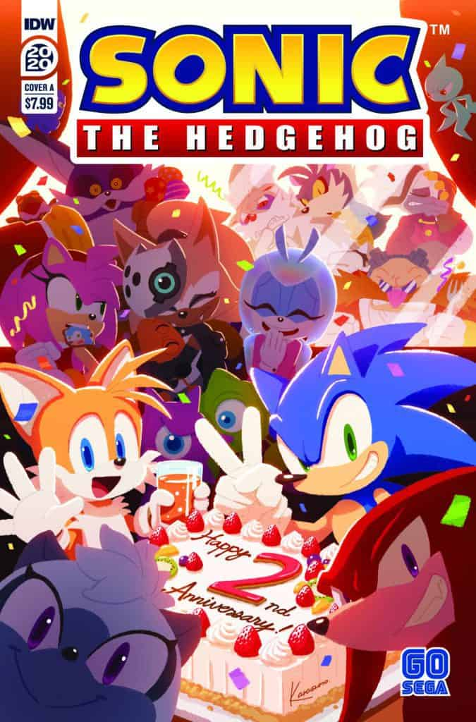 SONIC THE HEDGEHOG ANNUAL 2020 - Cover A