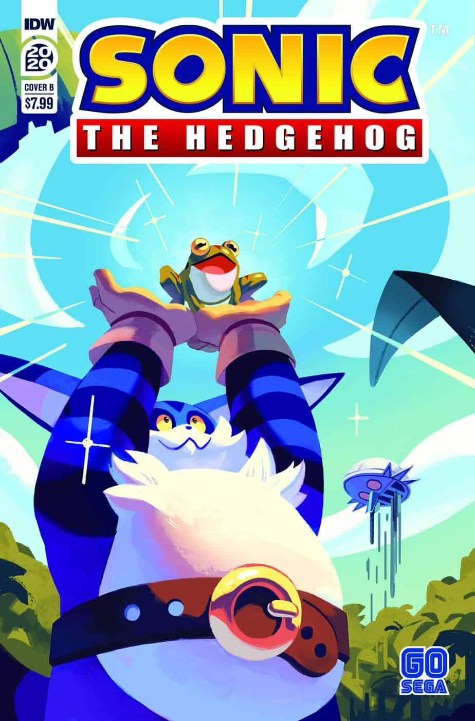 SONIC THE HEDGEHOG ANNUAL 2020 - Cover B