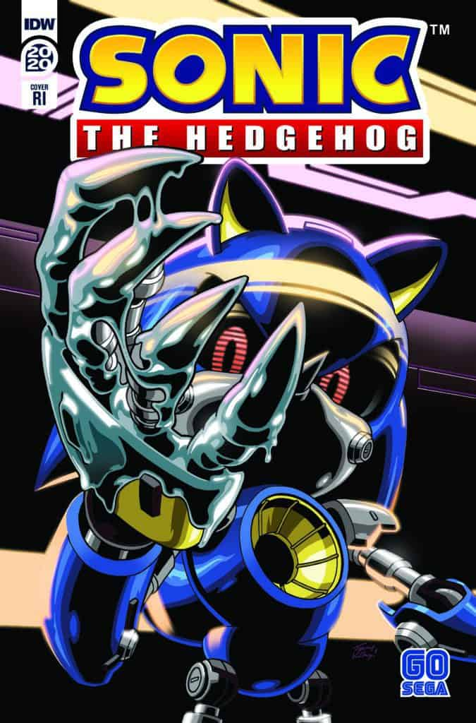 SONIC THE HEDGEHOG ANNUAL 2020 - Retailer Incentive Cover