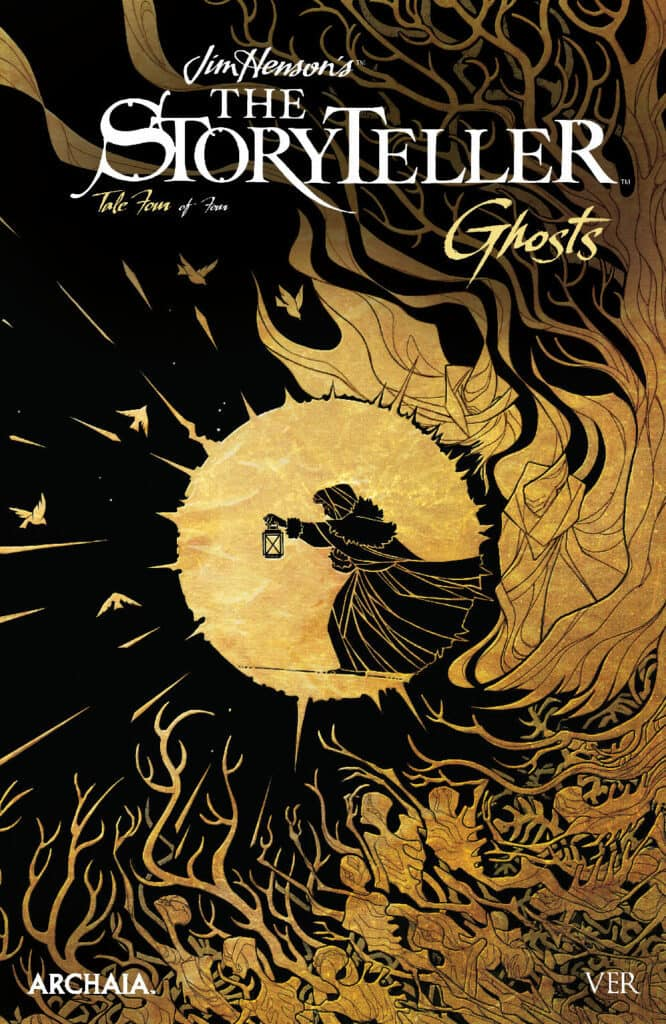 JIM HENSON'S THE STORYTELLER: GHOSTS #4 - Variant Cover by Ver