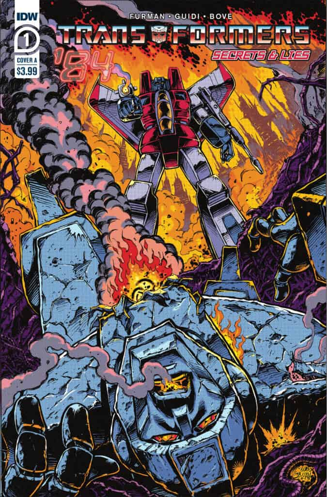 TRANSFORMERS '84: Secrets and Lies #1 - Cover A