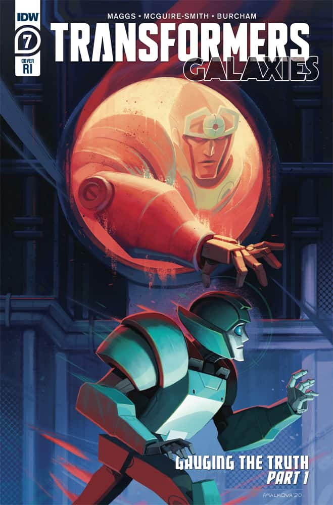 TRANSFORMERS: Galaxies #7 - Retailer Incentive Cover