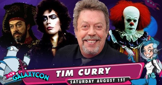 Tim Curry at GalaxyCon Live feature