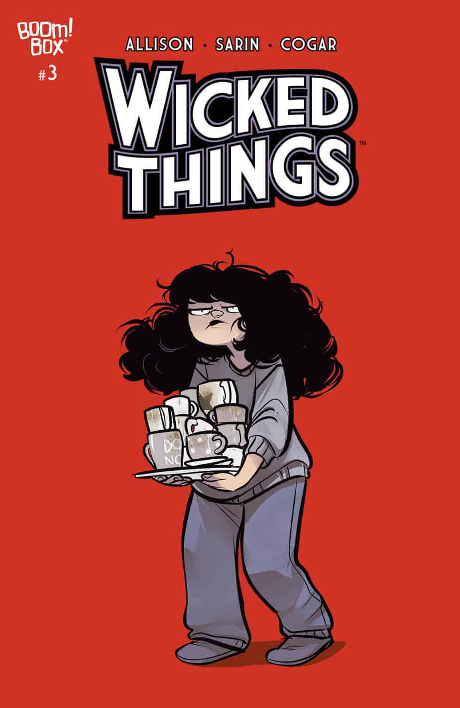WICKED THINGS #3 - Main Cover