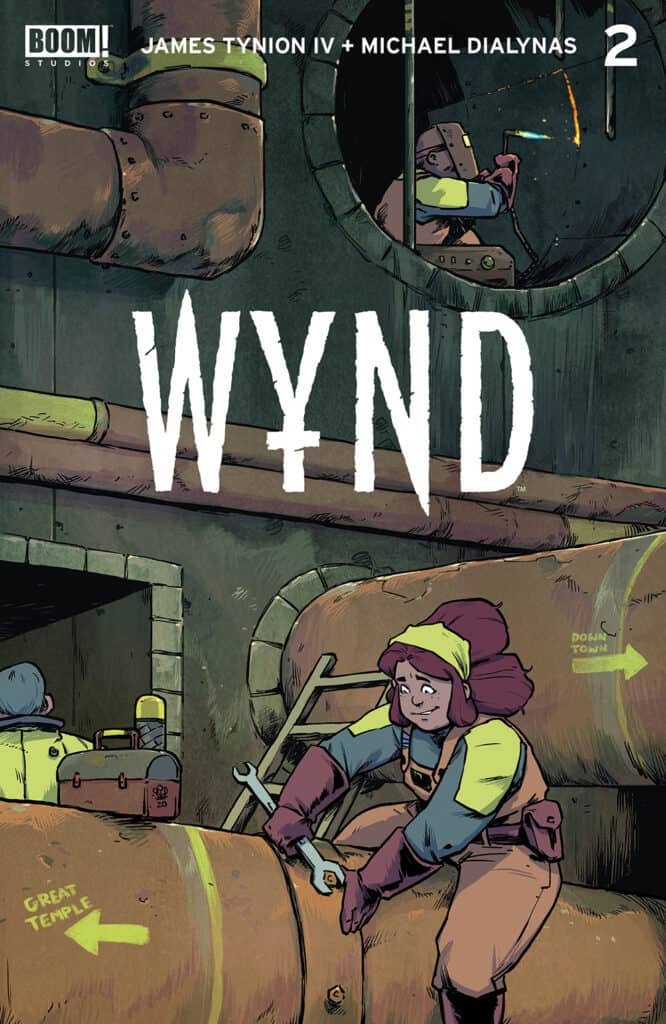 WYND #2 - Main Cover