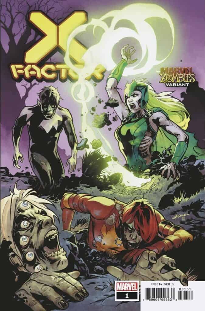 X-FACTOR #1 - Cover D