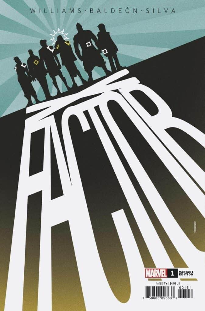 X-FACTOR #1 - Cover E