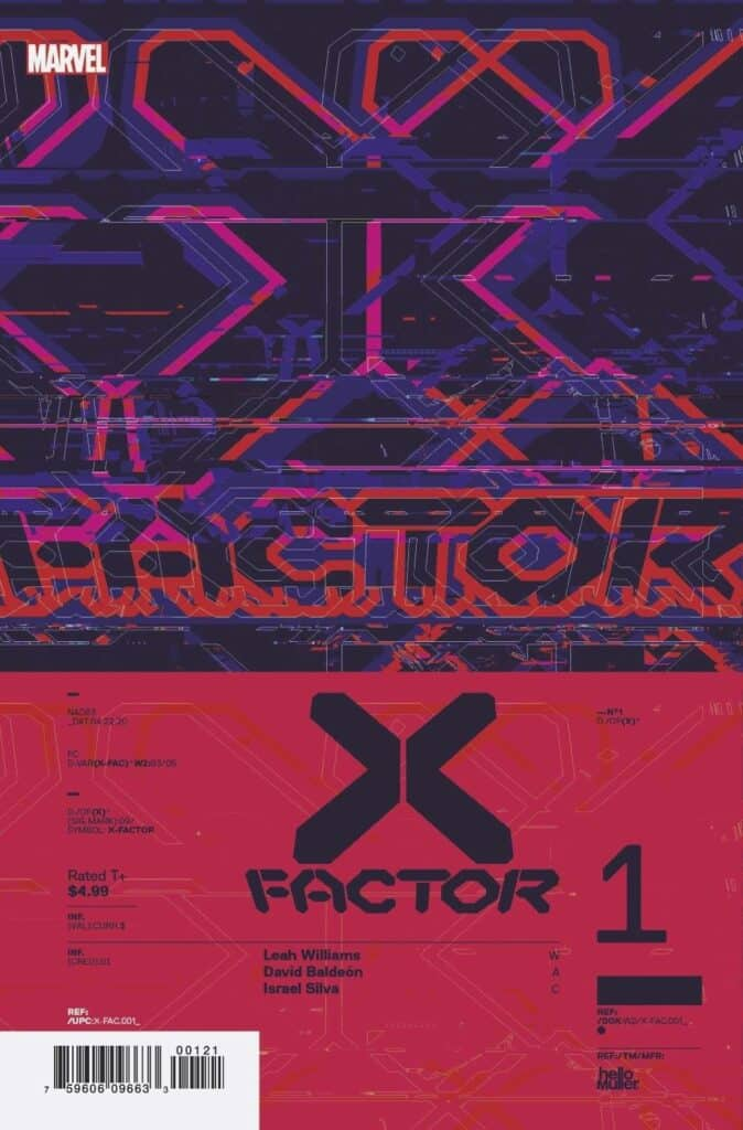 X-FACTOR #1 - Cover F