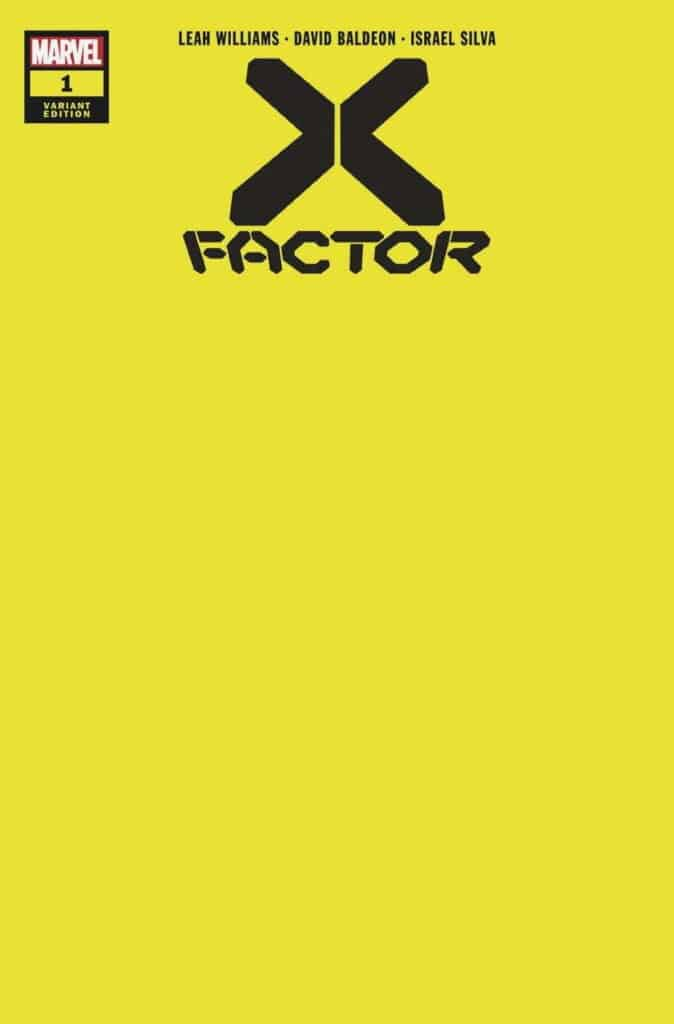 X-FACTOR #1 - Cover G