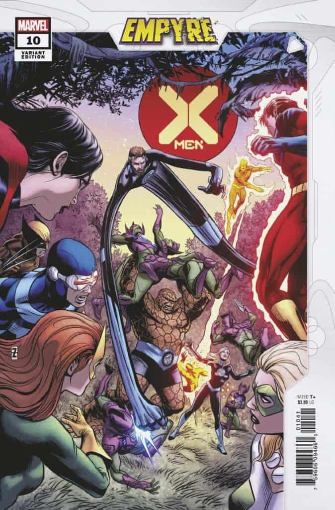X-MEN #10 - Cover D