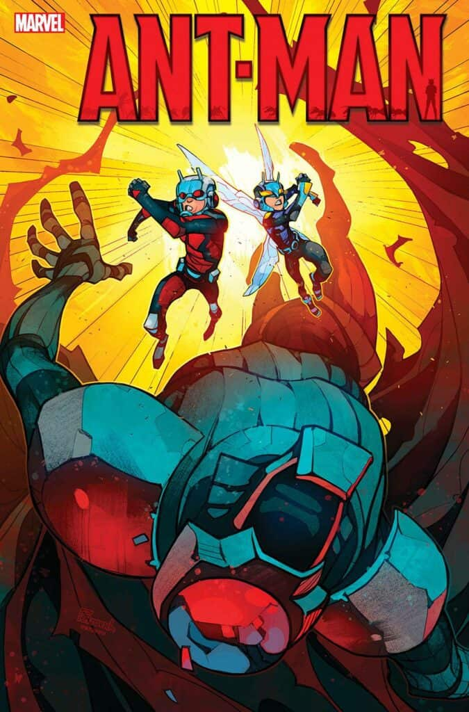 ANT-MAN #5 cover