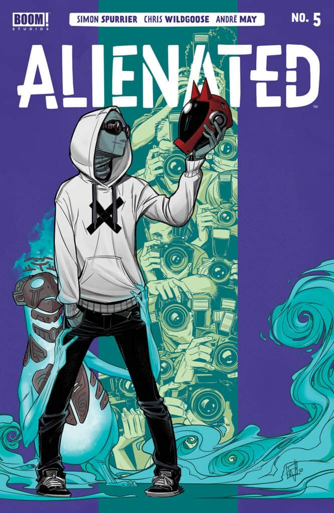 ALIENATED #5 - Main Cover