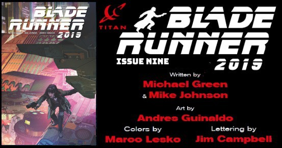 Blade Runner 2019 #9 preview feature
